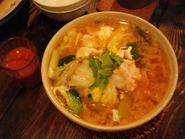 タイスキ風汁麺