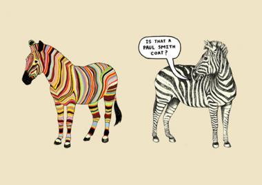 one trick zebra