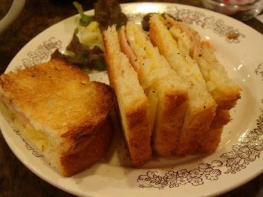 チャルカのサンドイッチ