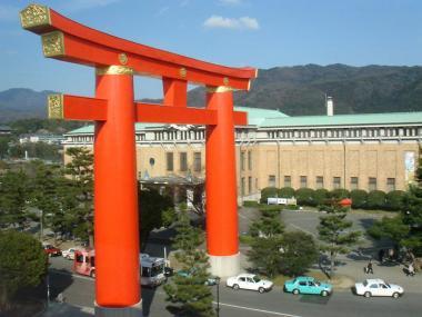 京都国立近代美術館 鳥居