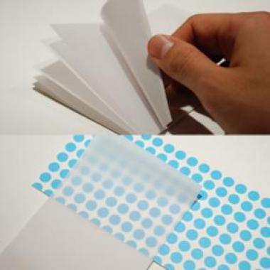 空想無印から商品化された付箋紙