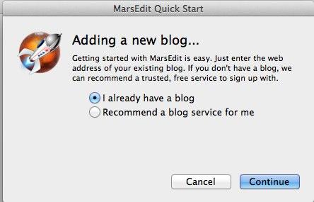MarsEdit Quick Start 4