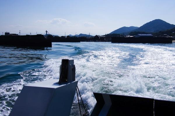 船から見る須田港
