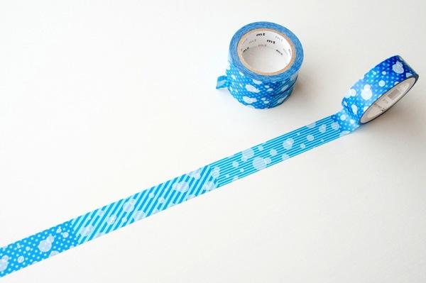 mt 粟島限定マスキングテープ 白と青