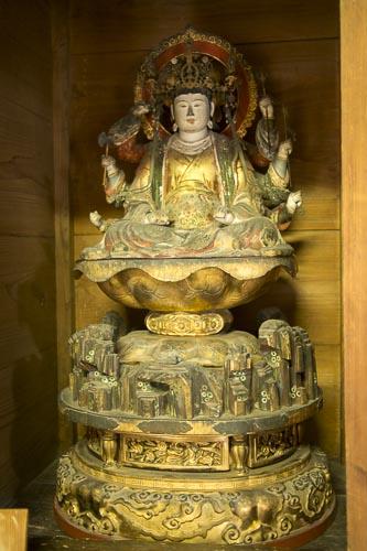木造弁財天坐像