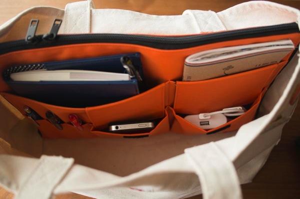 リヒトラボのバッグインバッグ
