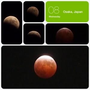 秋の天体ショー「皆既月食」〜total eclipse〜に魅せられて