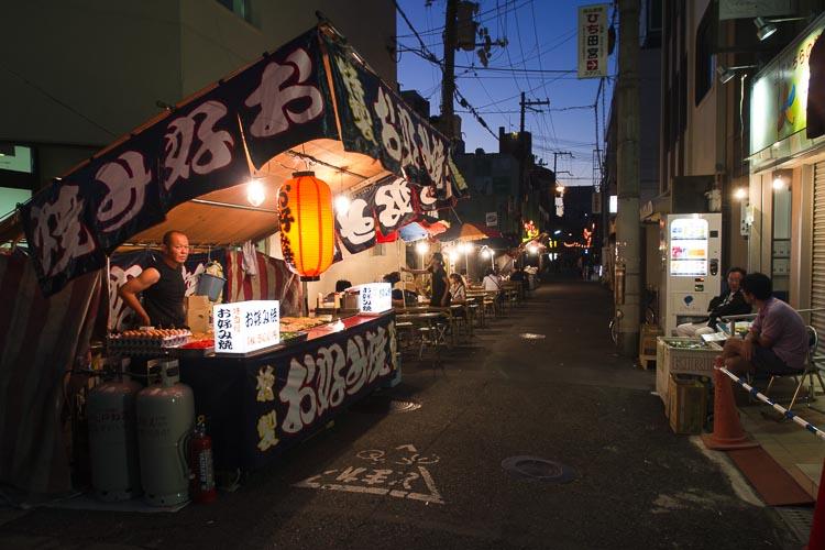 岸和田だんじり祭り 屋台