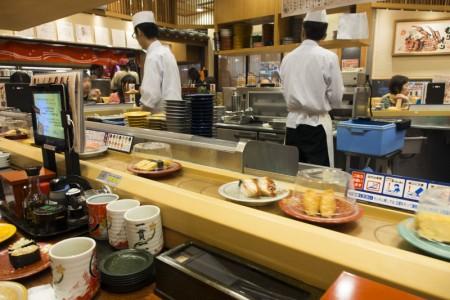 金沢の回転寿司のレベルは高い!もりもり寿司近江町店で北陸の魚介を堪能