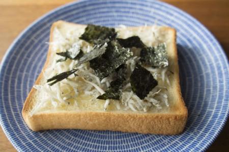 [レシピ] 海街ダイアリーのしらすトーストが意外にもすごく美味しい