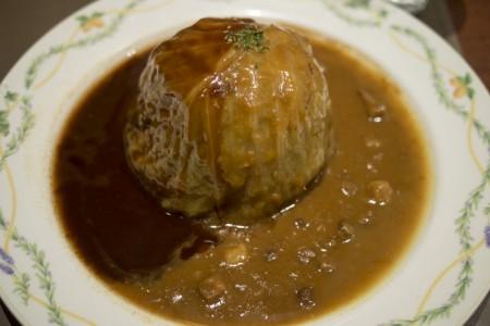 巨大すぎるロールキャベツ!阿倍野の洋食屋さん「グリルマルヨシ」
