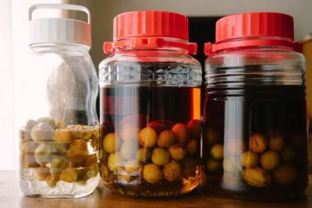 今年の梅仕事!3kgの梅をブランデー梅酒と梅シロップに